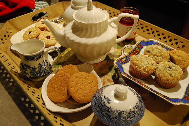Tea and biccies